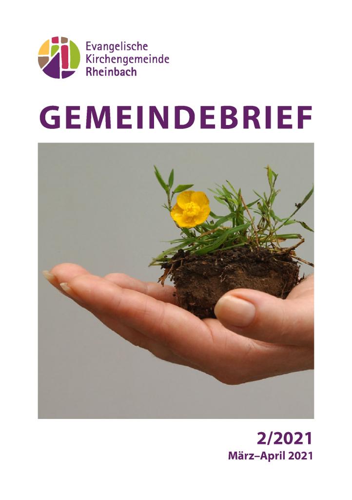 Gemeindebrief März - April 21