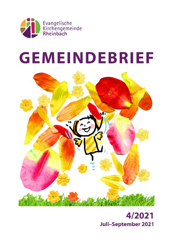 Gemeindebrief Juli - September 21
